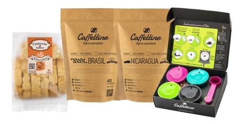Imagen 1 de 1 de Kit Tentación Dolce Gusto Centroamérica Con Cantuccini