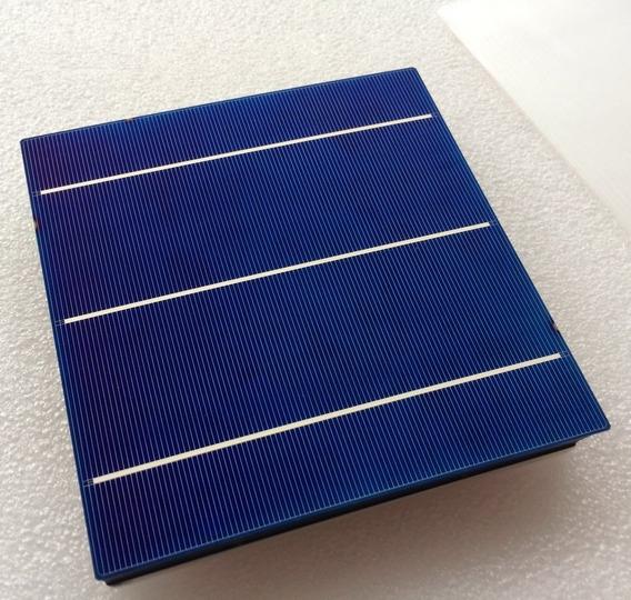 Kit 10 Célula Solar Fotovoltaica 156x156 Policristalina 4w