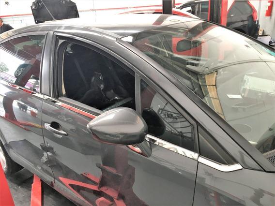 Friso Aplique Inox Janela Inferior Citroen C4 Hatch 08peças