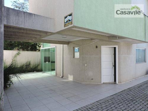 Imagem 1 de 30 de Sobrado Com 3 Dormitórios À Venda, 118 M² Por R$ 530.000,00 - Boa Vista - Curitiba/pr - So0062