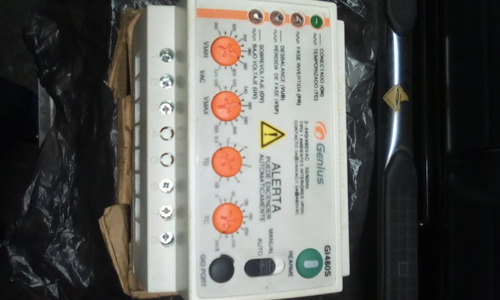 Protector De Voltaje Genius G1480s