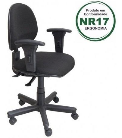 Cadeira Executiva Giratória Com Back System Nr 17 Ergonomia