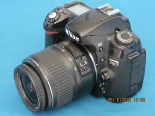 Camara Nikon D80,profesional Digital (no Graba Video)