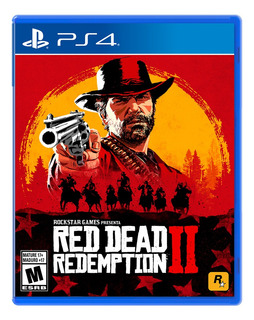 Red Dead Redemption 2 Formato Físico Ps4 Original