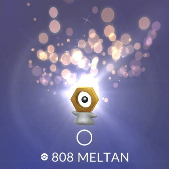 Pokémon Go - Caixa Meltan (3 Un.)