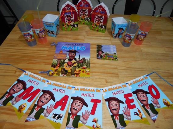 Cotillon Cumpleaños La Granja De Zenon