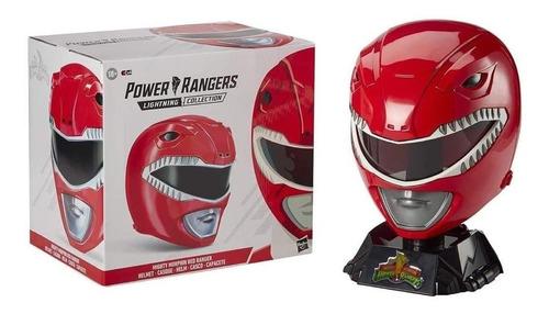Power Rangers Lightning Collection Capacete Vermelho E8163