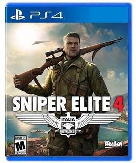 Sniper Elite 4 - Ps4 Juego Físico - Sniper Game