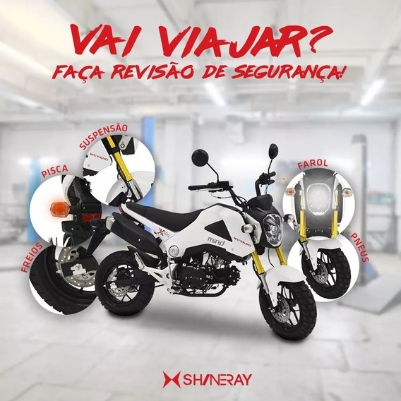 Shineray Mind Cinquentinha A Top Das 50cc