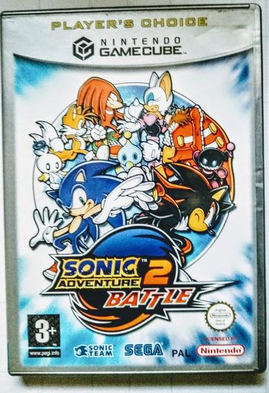 Game Cube - Sonic Adventure 2 Battle - Original Europeu