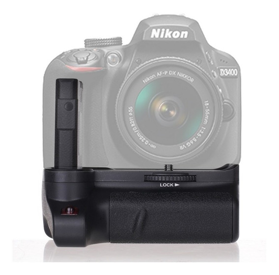 Battery Grip Bg-2v Nikon D3400 En-el14