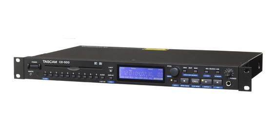 Reproductor De Cd Tascam Para Rack / Cd500