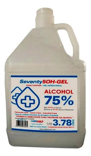 Gel Antibacterial Lubrikon Galon 3.87 Lt Al  75% Alcohol