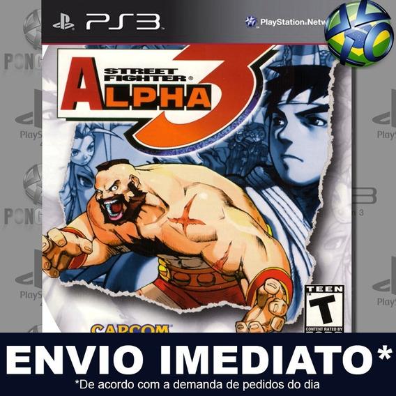 Street Fighter Alpha 3 (psone Classic) Ps3 Psn Jogo Promoção