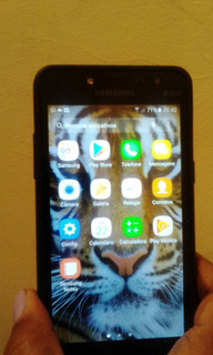 Celular Samsung Galaxy Grand Prime+ Duo, Preto Pouco Uso.