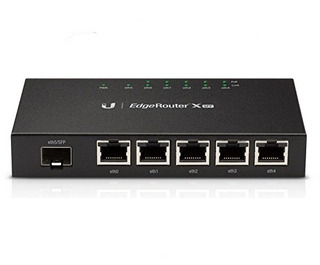 Ubq Er-x-sfp Router 5xgige   1xsfp 260kpps/64byte