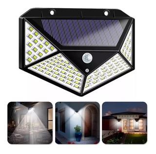 Lampara Solar 700 Lumen 114 Led Sensor Mov Hasta 15 Horas