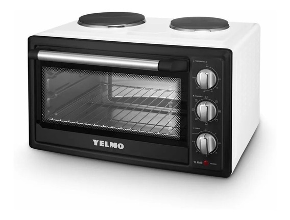 Horno Yelmo Yl40ac Electrico 40lts 2 Anafes