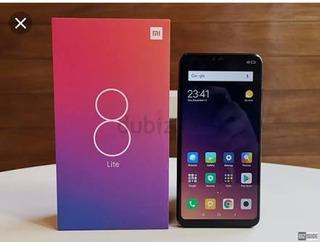 Celular Xiaomi Mi 8 Lite Versão Global 64 Gb 4gb + Relogio Smartwach Digital Exercicios Fisicos !!