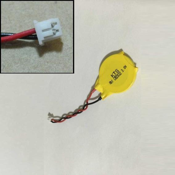 05 Bateria Cr2032 Cmos Setup Bios Placa Mãe Notebook Com Fio