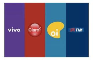 Recarga Celular Crédito Online Tim Clara Vivo Oi R$10