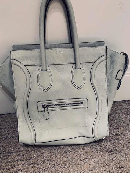 Bolsa Celine Luggage Branca
