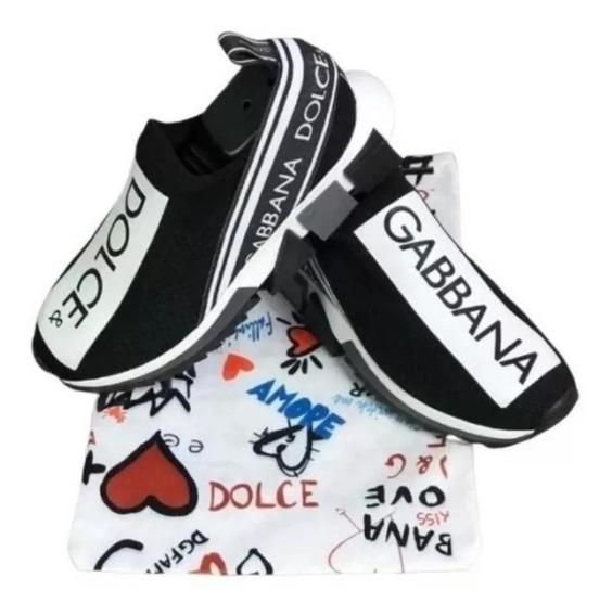 Lançamento Tênis Dolce & Gabbana Masculino + Frete Grátis