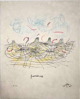 Roberto Matta - Prescience (1985)