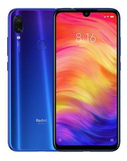 Smartphone Redmi Note 7 64gb 4gb 48 Mpx Dual Rom Global Azul