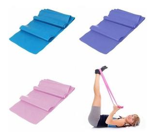 Faixa Elástica Para Exercício Alongamento Yoga