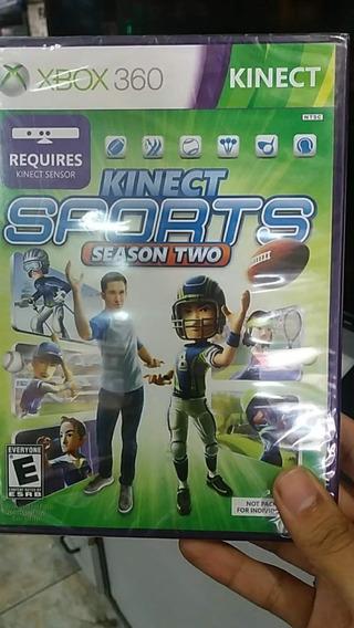 Jogo Kinect Sports Season Two- Xbox 360 Mídia Fisica