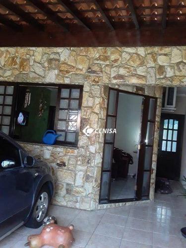 Casa Com 3 Dormitórios À Venda, 98 M² Por R$ 320.000,00 - Jardim Morada Do Sol - Indaiatuba/sp - Ca2120