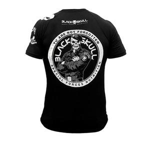 Camiseta Poliester Bope - Black Skull