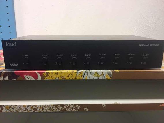 Seletor De Caixa Acústica Loud Ssw 8 Zonas (8 Ambientes)