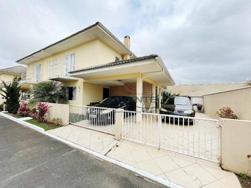 Sobrado Com 3 Dormitórios À Venda, 137 M² Por R$ 640.000,00 - Guaíra - Curitiba/pr - So0851