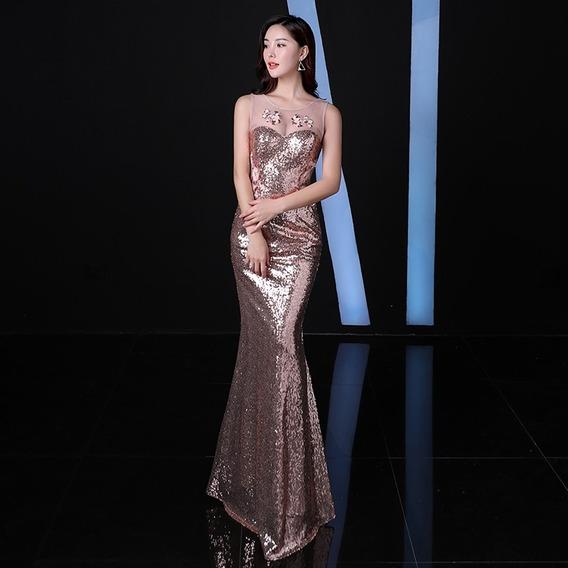 Vestido De Noche Fiesta Boda 15 Envio Gratis(directo China)