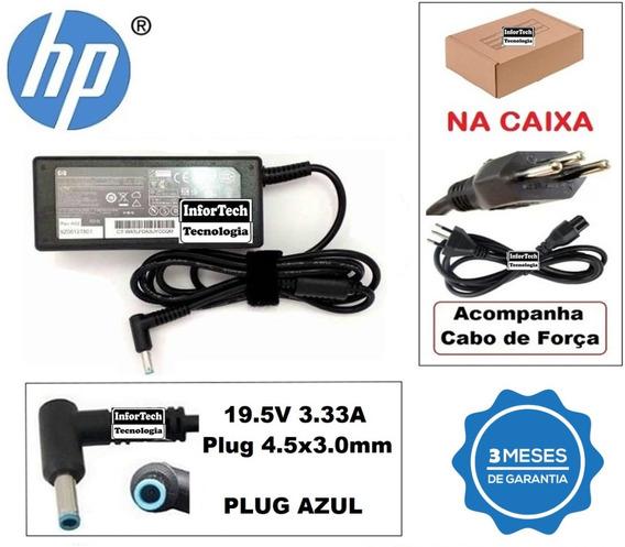 Carregador Para Notebook Hp 19.5v 3.33a 65w Nova!