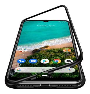 Capa Case Capinha Magnética Vidro Traseiro Para Xiaomi Mi A3