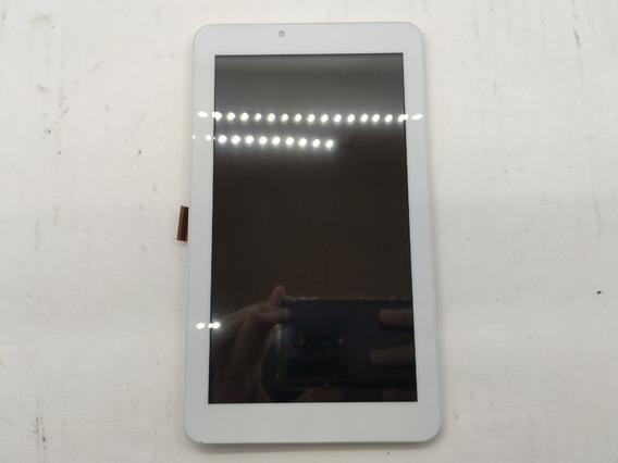 Frontal Do Tablet Multilaser M7s Plus Original Branca #3545
