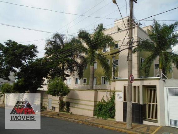 Apartamento Com 2 Dormitórios Para Alugar, 50 M² Por R$ 980/mês - Nova Americana - Americana/sp - Ap2455