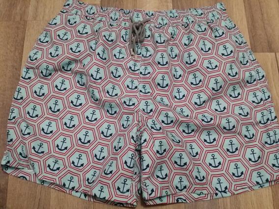 Shorts Adulto Vilebrequin Azul Marinho Tamanho L E Xxl
