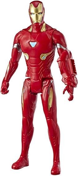 Boneco Iron Man Marvel Avengers Titan Hero Hasbro - E3918