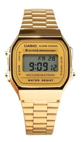 Reloj Casio Vintage-a168wg-9vt