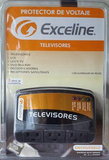 Protector De Voltaje Exceline Para Televisores Nuevo