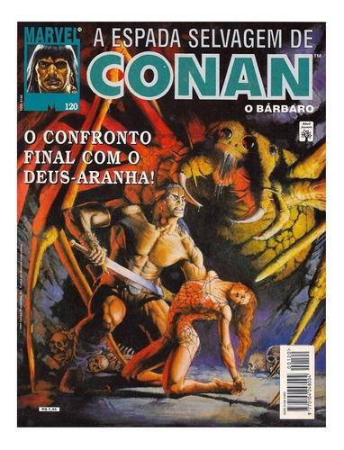 Gibi A Espada Selvagem De Conan N° 120 1° Edição 1994 Abril