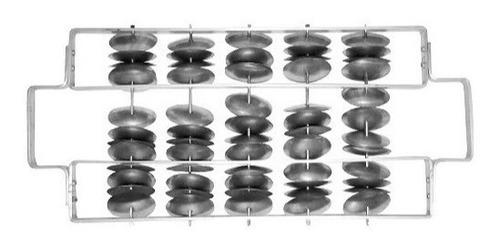 Imagem 1 de 5 de Rocar Chocalho Gope Triplo Alumínio 530