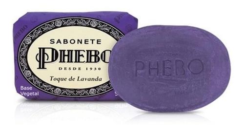 Sabonete Phebo 90g Toque De Lavanda (kit 12un)