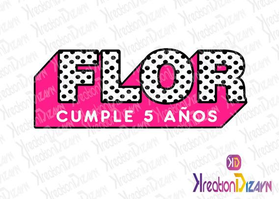 Logo Personalizado Con Tu Nombre De Lol