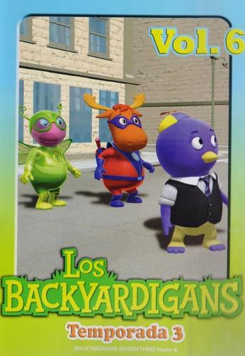 Imagen 1 de 3 de Los Backyardigans Temporada 3 Tres Volumen 6 Seis Dvd