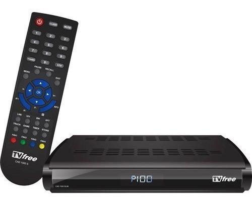 Kit Tv Free - Antena 1,5m + Receptor Monoponto Digital/analó